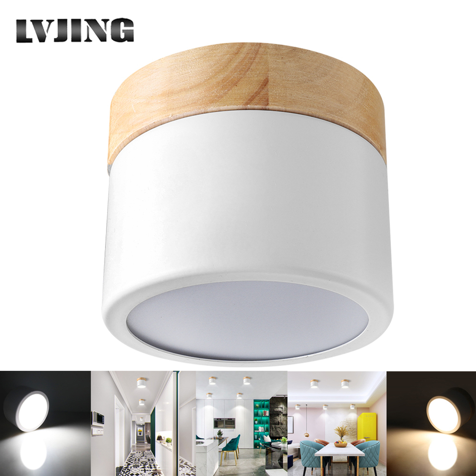 Led Downlight 7w Surface Mounted