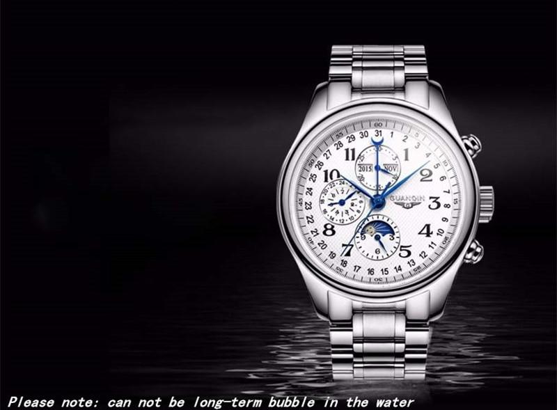 Hebfa7720d25f40b993ff4285efee2a77Q GUANQIN Automatic Mechanical Men Watches Top Brand Luxury Waterproof date Calendar Moon Leather Wristwatch Relogio Masculino A
