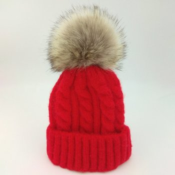 цена на Boy Girl Children Winter Plain Knitted Hat Ice Cream Color Pointed Hat Knitted Children's Wool Hat Baby Warm Hat