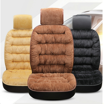 Winter Thicken Car Seat Covers Universal Fit Soft Non Slide Cushion Quality Luxury Car Interior for Vehicle Auto Seat Protector