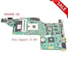 NOKOTION – carte mère pour ordinateur portable HP pavillon DV7 DV7T DV7-4000 605320 – 001 615307-001, HD5650M 1 go, prend en charge I7 uniquement