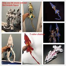 MGJ modèle DE bouclier avec queue pour Bandai, licorne Banshee Phenex FA Plan B Gundam DM025, 1/60 PG RX 0