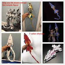 MGJ model DE kalkanı için kuyruk ile Bandai 1/60 PG RX 0 Unicorn Banshee Phenex FA Plan B Gundam DM025