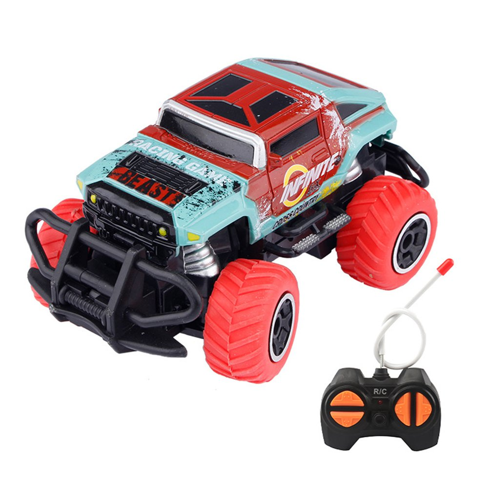 Children's Remote Control Toy Car Four-way Wireless Off-road Car Model Boy Electric Toy Car Boy Kids Toy