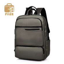 Piler 2019 Large Waterproof Nylon School Bags for Teenage Boys Travel Urban Backpacks Men Laptop Business Male City Backpack original xiaomi backpack mi minimalist urban life style backpacks for school business travel laptop bags large capacity