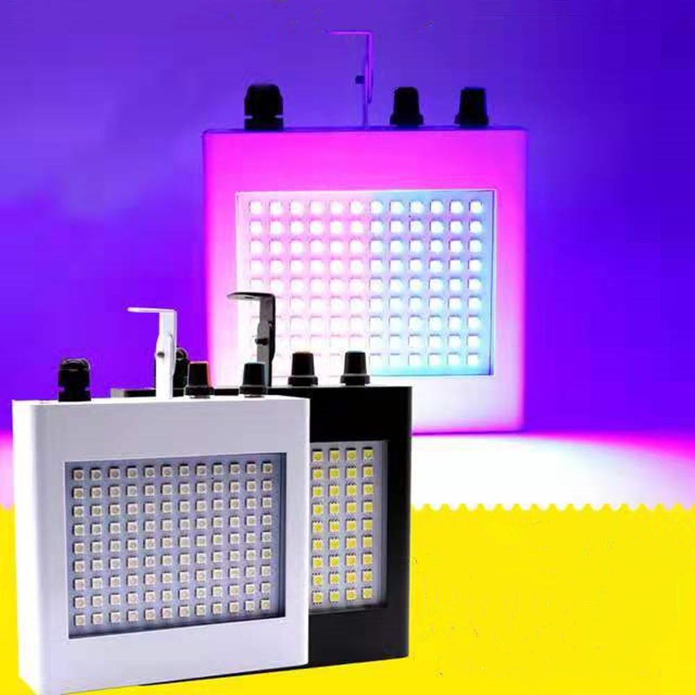 108 LED Mixed Flashing DJ Stage Lights Remote Sound Activated Disco Lights For Festival Parties Lights Wedding KTV Strobe Lights