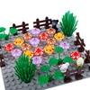 MOC Building Block Scene City Figures Accessories Forest Plant Flower Mushroom Printed Kids Toys