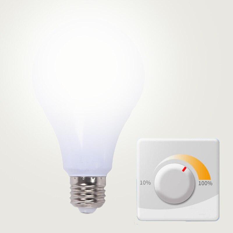 Dimmable E27 LED Bulb Lamps 5W 7W 9W Lampada LED Light Bulb AC 220V 230V 240V Bombilla LED Spotlight Table Lamp Saving Light