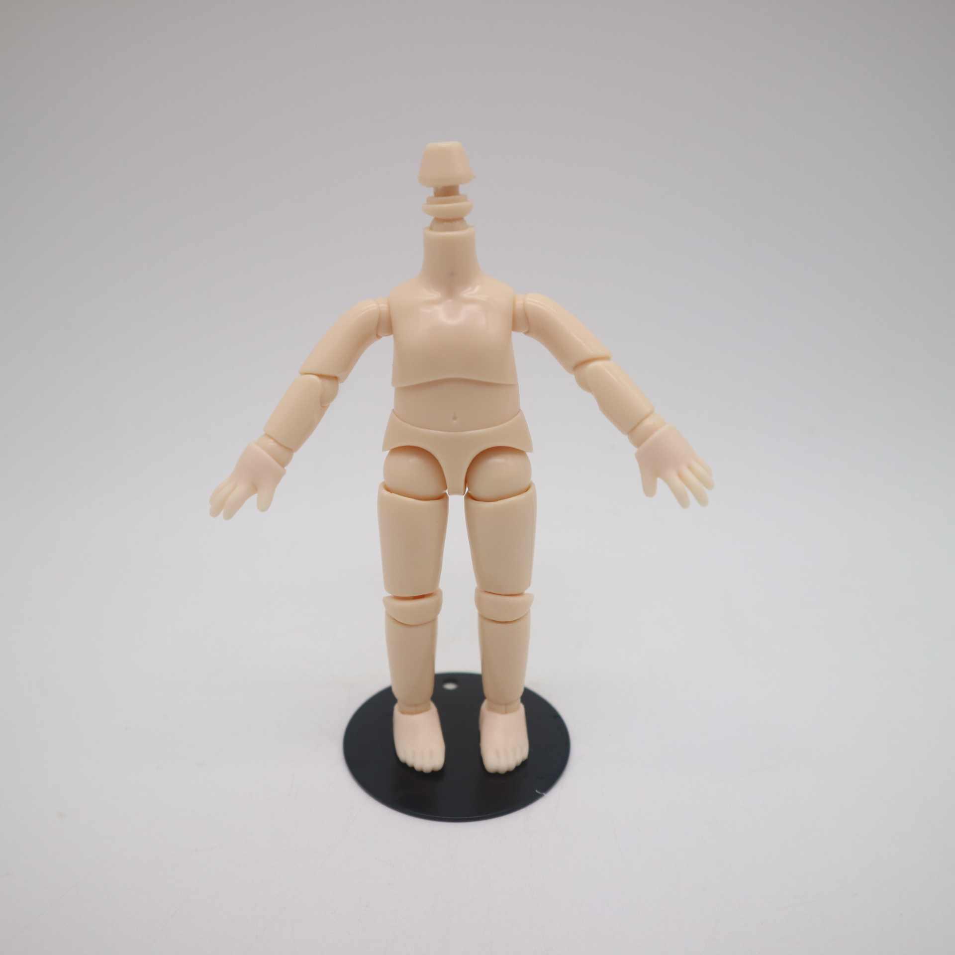 Sto boneca cabeça mini boneca, mesmo para ob 11 boneca, corpo de venda