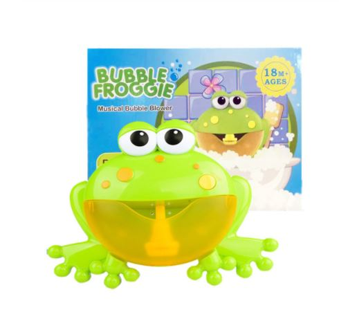 Frog with box