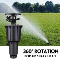 1/2 Inch 3/4 Inch Integrated Sprinkler High Water Pressure 360 Degrees Rotating Watering Pop Up Spray Head Sprinkler|Sprayers|Home & Garden -
