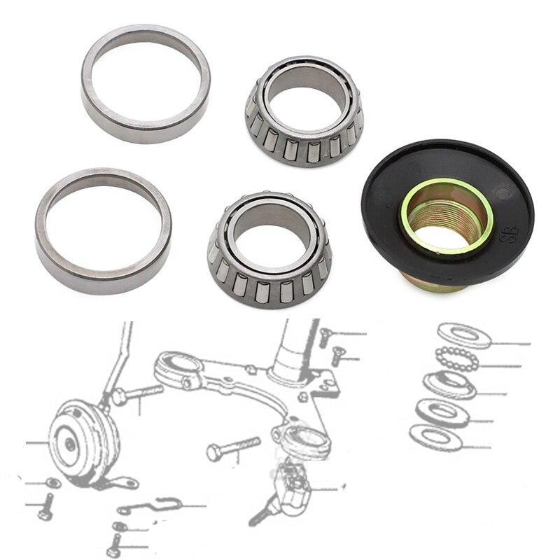 Motorcycle Steering Stem Rebuild Bearings For Honda Z50 SS50 CL70 CT70 SL70 XL70 S65 S90 CL90 CT90