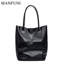 Fashion Women Shoulder Bag 100% Real Soft Leather Elegant Lady Tote Bag Handbags Large Capacity High Quality Shopping Bags Purse 2017 new fashion lady capacity shopping handbag shoulder canvas bag tote purse high quality women s messenger bag dropshipping