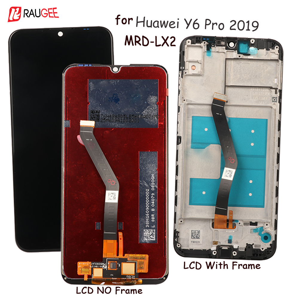 For Huawei Y6 Pro 2019 Lcd Display Touch Screen Sensor Assembly Replacement For Huawei Y 6 Pro 2019 MRD-LX2 Display Tested LCDs
