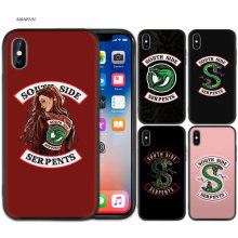 Silicone Case Cover for iPhone XS XR X 7 8 6 6S 5C 5E 5S 5 Plus Max iPhone 11 11ProMax 6+ 7+ 8+ Riverdale South Side Serpents Sn(China)