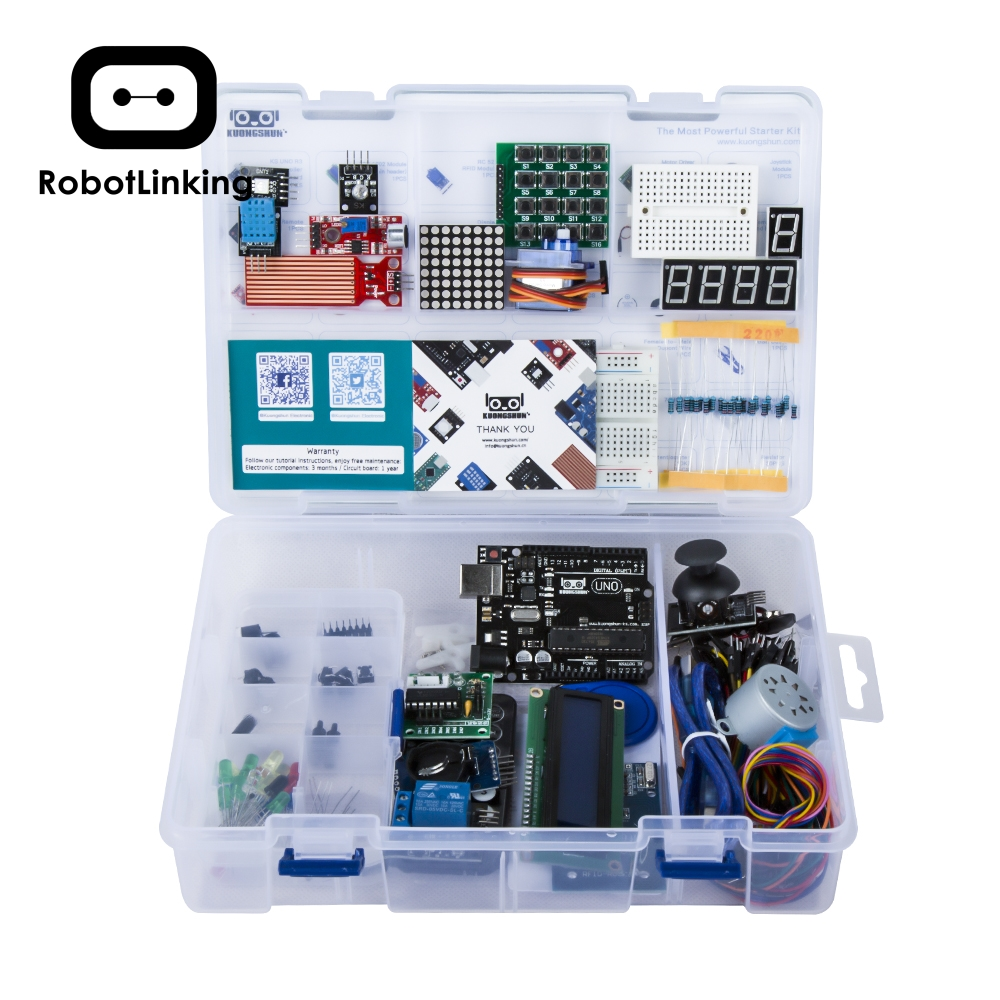 Image 2 - UNO Project Super Starter Kit with Tutorial, UNO R3 Controller Board, Servo, Stepper Motor, Relay etc. for Arduino Projects 2019-in Integrated Circuits from Electronic Components & Supplies