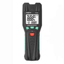 RM068 Digital Moisture Meter Pin Type Humidity Temperature Wood Tile Building Construction Moisture LCD Display Backlight smart sensor moisture meter wood plants hygrometer plant humidity meter with wood type select function for paper moisture meters