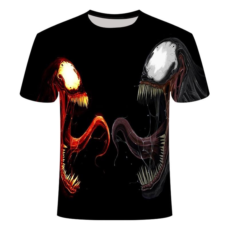"Новинка, Мужская Футболка Venom, футболка ""Марвел"", 3D принт, футболка s, мужская, женская, Повседневная футболка, футболка для фитнеса, футболки, топы - Цвет: TX-036"