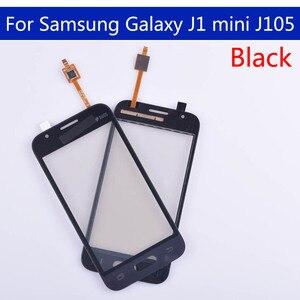 Image 5 - 10pcs الكثير J105 لسامسونج غالاكسي J1 البسيطة J105 J105H J105F J105B J105M SM J105F لوحة شاشة لمس محول الأرقام زجاج لمس