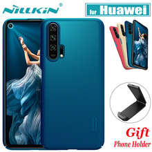 Nillkin Case Huawei Honor 20 9X Pro 20i 10i Cover Frosted Matte Hard PC Back Cases on Huawei Honor Note 10 LIte V20 V10 8X Max стоимость