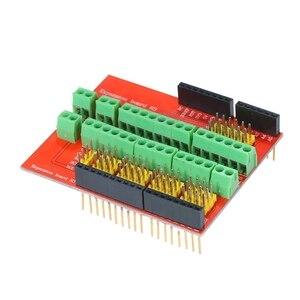 Placa de expansão terminal do protetor v3 do parafuso compatível com para o moudle dos meios interativos de uno r3 para arduino