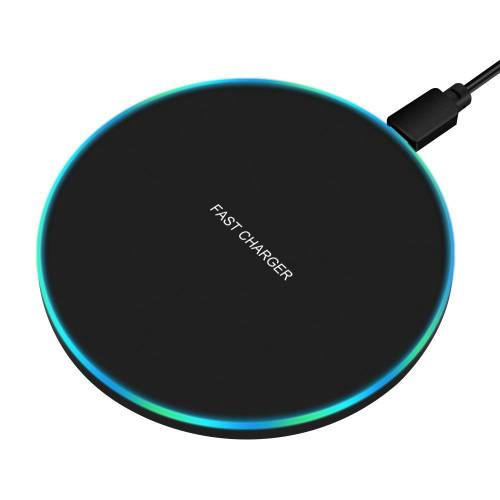 US $4.99 |Camfutr 10W Fast Wireless Charger For Samsung Galaxy S10 S9S9+ S8 Note 9 USB Qi Charging Pad for iPhone 11 Pro XS Max XR|Mobile Phone