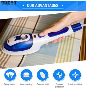 Image 1 - Portable Iron Brusher Steam Iron Engine Home Clothes Steamer Machine mini Iron Streamer Traval Iron Steamer For Clothes Garment