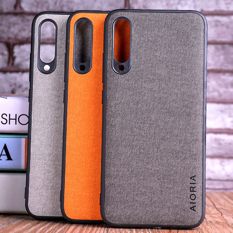 Case for <font><b>Xiaomi</b></font> <font><b>Mi</b></font> A3 A1 <font><b>A2</b></font> Lite coque Luxury textile Leather skin soft hard cover for <font><b>Xiaomi</b></font> <font><b>Mi</b></font> A3 A1 <font><b>A2</b></font> Lite case funda <font><b>capa</b></font> image