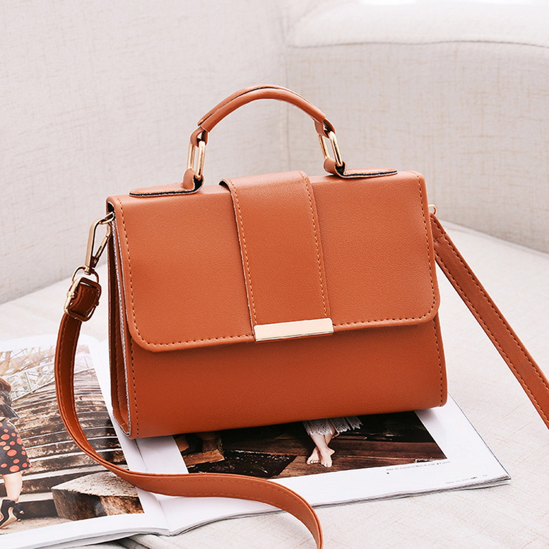 2020 Spring Fashion Women Bag Leather Handbags PU Shoulder Bag Small Flap Crossbody Bags For High Quality Luxury Ladies Hand Bag