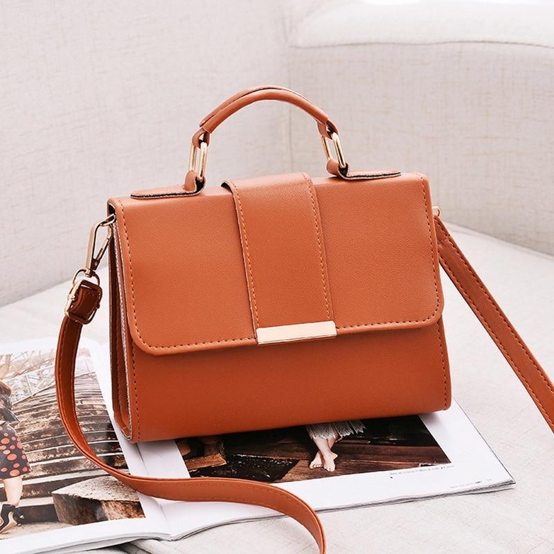 2020 Spring Fashion Women Bag Leather Handbags PU Shoulder Bag Small Flap Crossbody Bags For High Quality Luxury Ladies Hand Bag