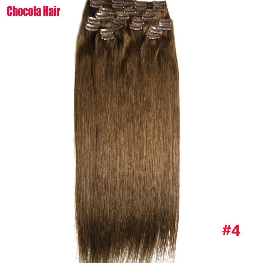 Chocola Full Head Brazilian Machine Made Remy Hair 12pcs Set 260g 16