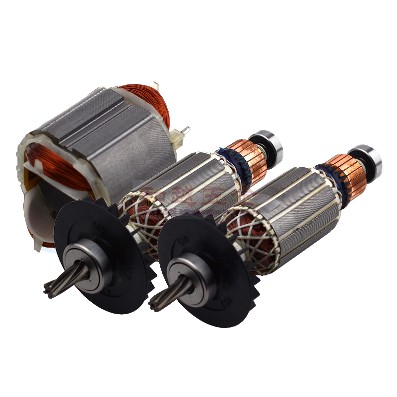 AC220-240V 5 Teeth 6 Teeth Armature Rotor Stator Replace for BOSCH GBH2 24 GBH2-24DSR GBH2SE GBH2-24GBH Rotary Hammer Parts