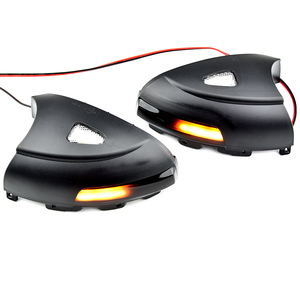 Image 2 - 2pcs Side Mirror indicator Dynamic Sequential Flowing LED Turn Signal Light Puddle Light For VW Volkswagen Tiguan MK1 2008 2016