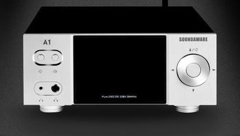A1 Desktop Network Player with Remote Control Digital Turntable Decoding Amplifier Roon Ready Supported