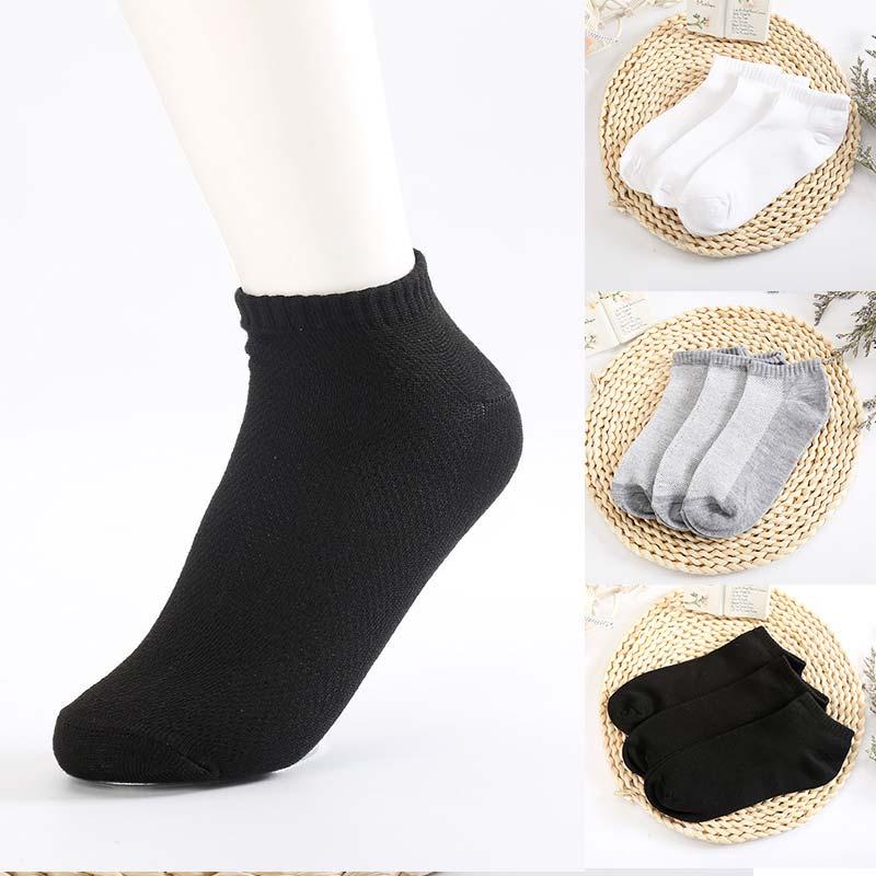 5Pairs/Pack Elastic Comfortable Sock Men Women Mesh Soft Adjustable Free Size Sock