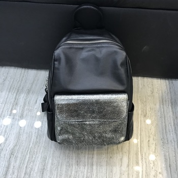 Kafunila fashion genuine leather backpack women real leather ladies shoulder bag school bags for teenage girl mochila feminina