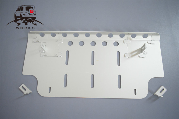 front skid plate (19)
