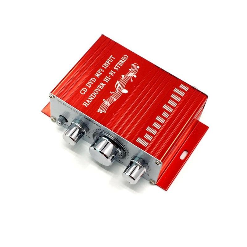 KYYSLB HY2001 2.0 20W*2  12V Mini Amplifier Home Audio Furnishing Furniture Car Amplifier HiFi Amplifier 20-20KHZ