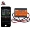 Батарея монитор Bluetooth MICRO-10 C новой версии Bluetooth для автомобиля 12В Voltmetery мониторинга автомобильный тестер топливной форсунки телефона шоу