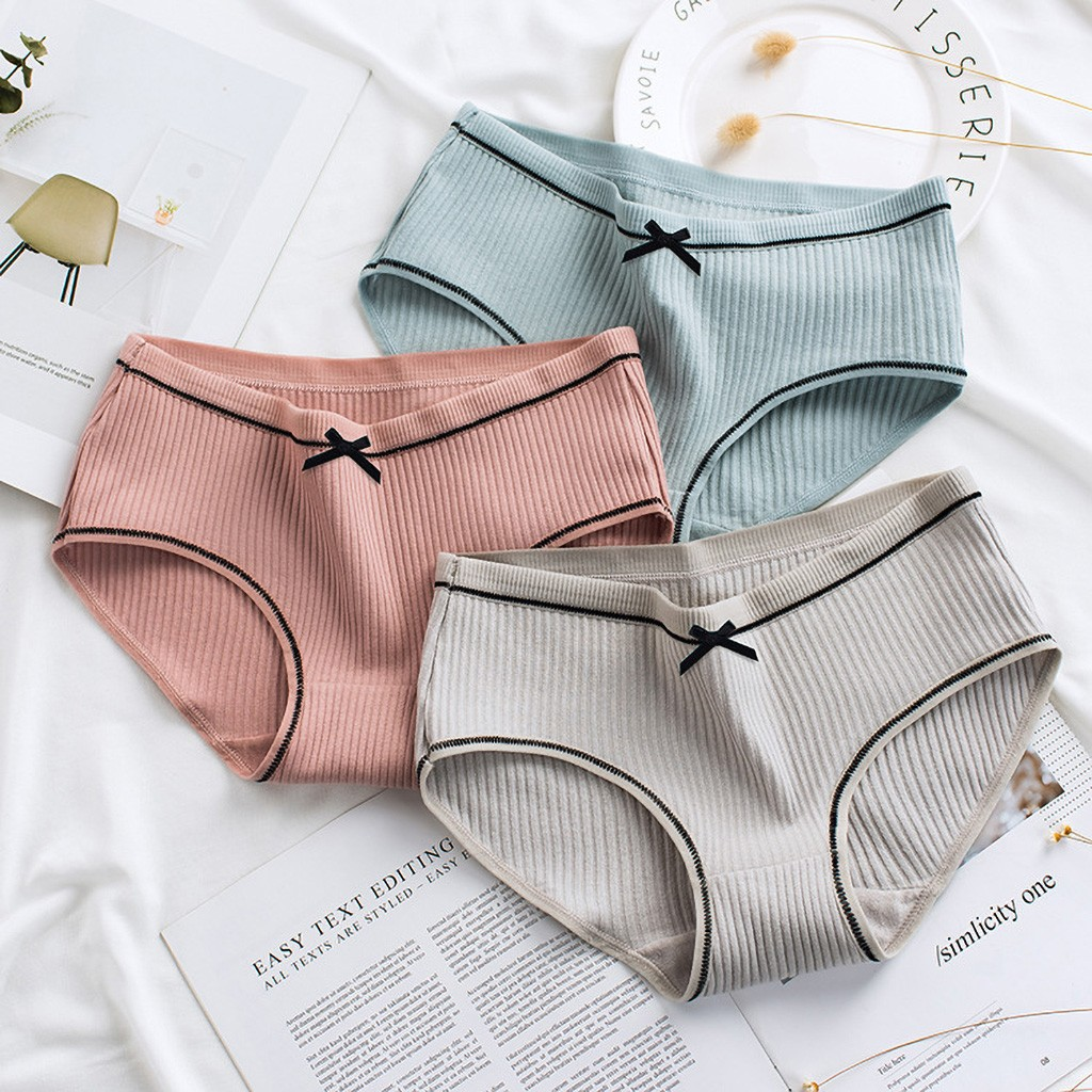 20#Women Lace Panties Thongs Underwear Seamless Briefs Lingerie Underwear 1PCS