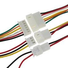 10 pairs xh2.54 2/3/4/5/6 pinos 2.54mm passo fio conector xh plugue macho/fêmea cabo de carregamento da bateria 200mm comprimento 26awg