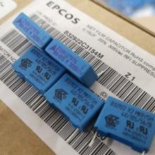 10PCS ใหม่ EPCOS B32922 0.15UF 305VAC PCM15 154/305VAC P15MM 150NF 305V 150NF/305VAC 154 u15