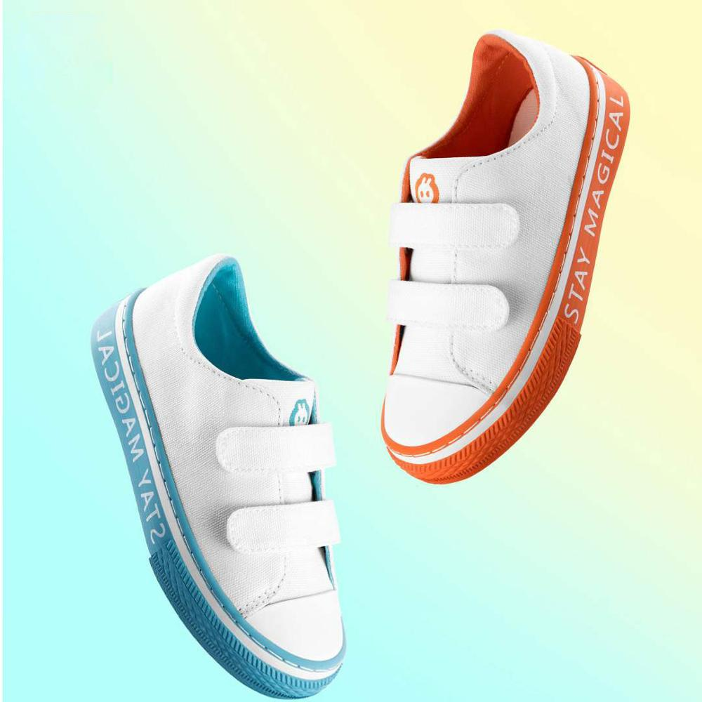 Kids' S Child Canvas Shoes Wearable Comfortable Soft Walking shoes Rubber Sole Non slip Casual Shoes For Four seasons