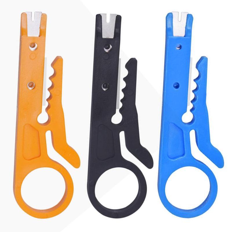 Мини Портативный нож для зачистки проводов щипцы плоскогубцы обжимной инструмент для зачистки кабеля резак для проводов мульти инструменты для резки линии карманный 3 цвета
