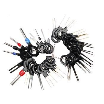 Pinza de presión eléctrica para extracción de terminales de coche, Kit de...