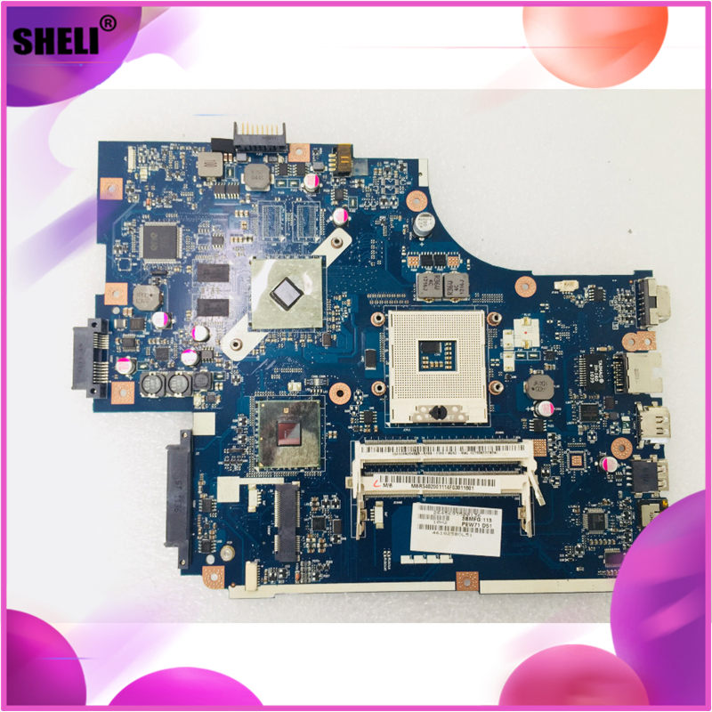 For Acer 5741 5741G <font><b>NEW70</b></font> <font><b>LA</b></font>-<font><b>5891P</b></font> rev 1.0 Laptop motherboard HM55 HD5470 512M notebook pc mainboard main board full Tested image
