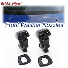 Erick's Wiper 2Pcs/lot Front Windshield Wiper Washer Jet Nozzle For Toyota Avensis Verso