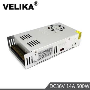 Image 3 - Enkele Uitgang 12V 24V 36V 48V 500W Voeding Transformers 110V 220V Ac naar Dc Stroombron Driver Voor Led Licht Cctv Stepper