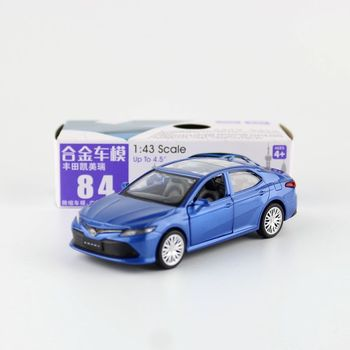 1:43 Scale Toyota Camry Alloy Pull-back Car Diecast Metal Model Car For Collection Children Gift V292 image