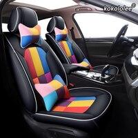 kokololee Custom Leather car seat cover For Haima Freema Family M8 3 V70 F7 S6 M3 M6 Automobiles Seat Covers cars